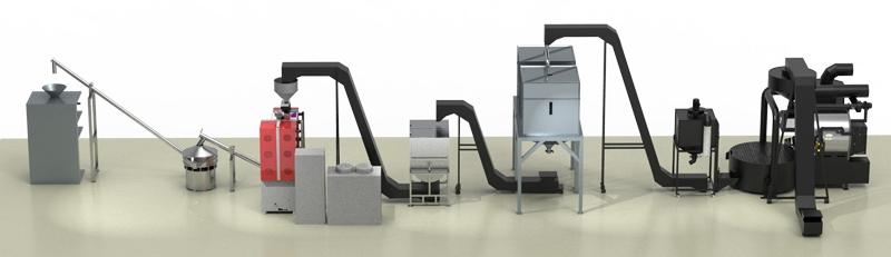 Proyecto llave en mano para la industria cafetalera