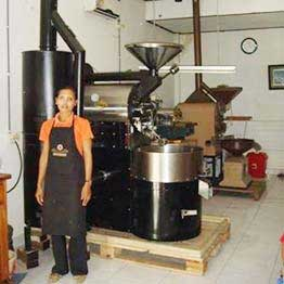 TKMX10 toper coffee roasting machine