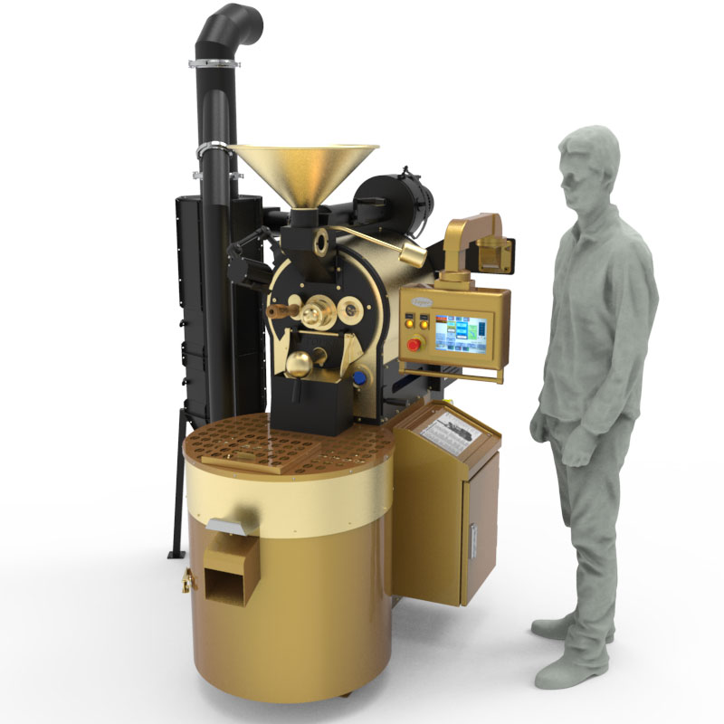 Toper provide the TKM-SX 5 coffee roasting machine for 3rd wave specialty coffee shops and baristas