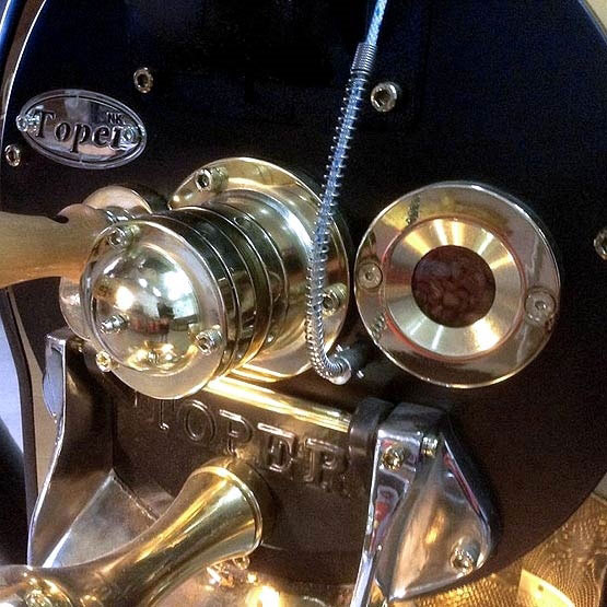 Toper Dükkan Tipi Kahve Kavurma Makinesi