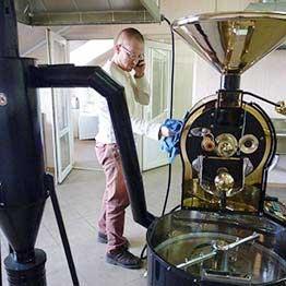 tkmsx 5 pražírna kávy typu shop