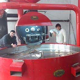 tkmx 180 토퍼 커피 로스터