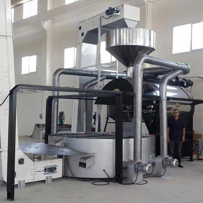 tostador de café industrial tkmsx 500 toper