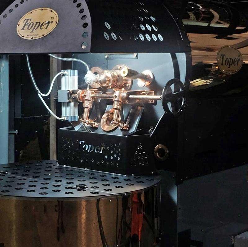 tkmsx30 toper kahve kavurucu gaz