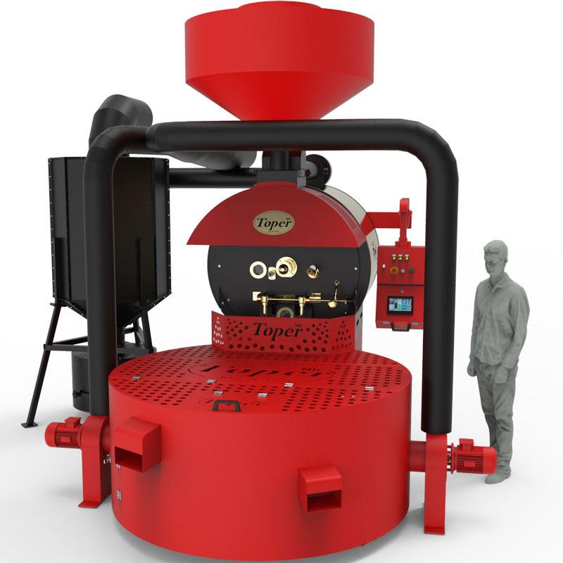 průmyslová pražírna kávy toper tkmsx 120