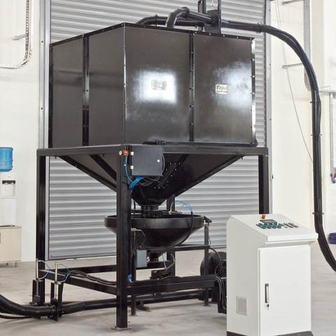 toper industrial coffee silo