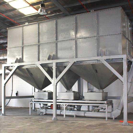 toper industrial coffee silo chromium