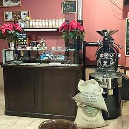 stroj na pražení kávy toper