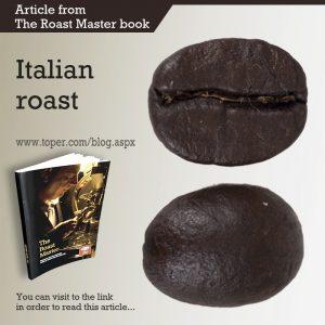 toper de café tostado italiano